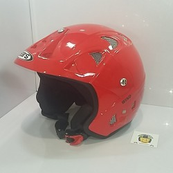 Casco Jet JK52 Wind Rojo