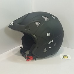 Casco Jet JK52 Wind Negro Mate
