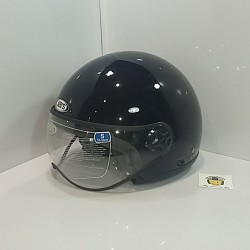 Casco Jet SB23 Negro Brillo