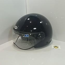 Casco Jet SB23 Negro Brillo