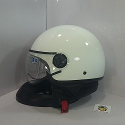 Casco Jet SB23 Blanco