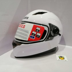 Casco Integral JH09B Blanco