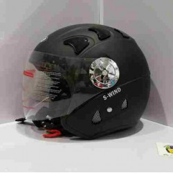 Casco Jet JK52 S-Wind Negro...
