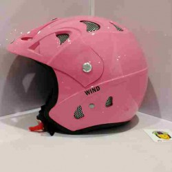 Casco Jet JK52 Wind Rosa