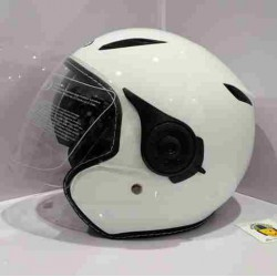 Casco Jet SB18 Blanco